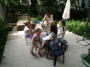 Bewirten der Gäste