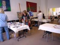 Helle Atelier-Räume
